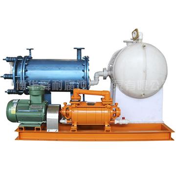 耐腐蚀水环式真空泵闭路循环