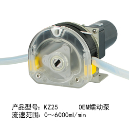 ZK25 OEM蠕动泵
