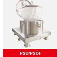 PSD/PSDF系列平板洁净型吊带卸料离心机