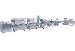 BP-120型机械筛动式计数瓶装包装联动生产线