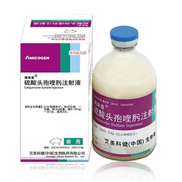 硫酸头孢喹肟注射液