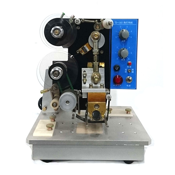 TD-140型台式电动打码机