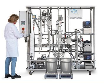 VK83-6帶脫氣分子蒸餾設備