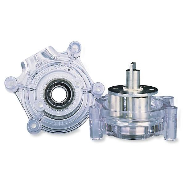 与L/S14泵管配套的Masterflex标准型泵头,PC外壳/冷轧钢转子,IN-07014-20