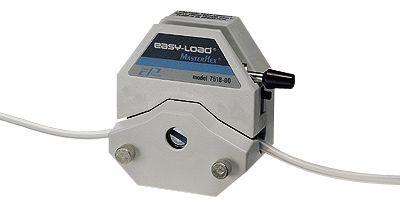 与精密型?#38665;?#37197;套的Masterflex L/S Easy-Load易装型泵头,PSF外壳/CRS转子,IN-07518-00