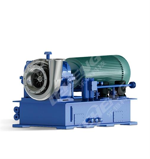 增速箱离心式蒸汽压缩机图片