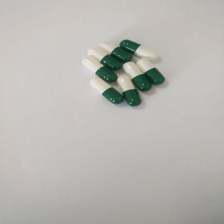 【黄山胶囊】0#明胶空心胶囊 深绿乳白 胶囊厂家直销