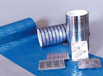 藥品包裝用鋁箔