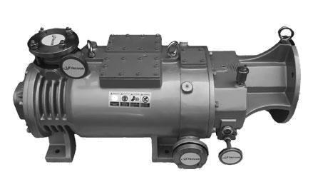 RMD干式变螺距螺杆真空泵