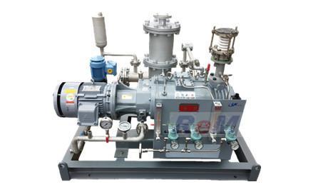 腐蚀、高沸点物料精馏真空系统