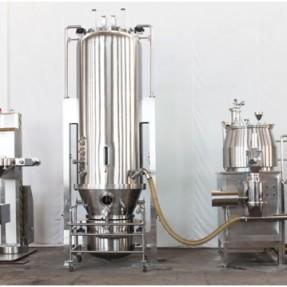 新型固体制剂制粒干燥连线