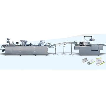 铝塑铝泡罩包装机/装盒自动包装生产线