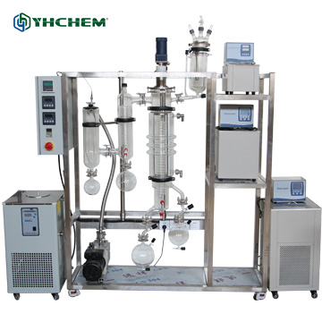 精油提取设备短程分子蒸馏器
