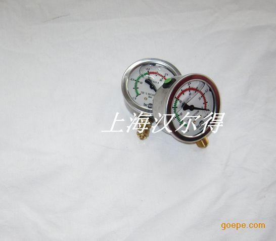汉尔得真空吸盘吊具机械式真空压力表P1454数显压力表