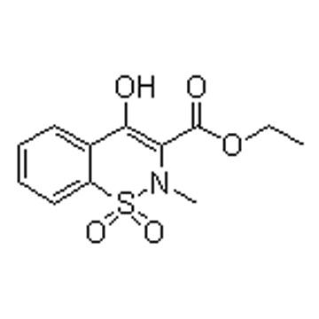 2-甲基-4-羟基-2H-1,2-苯并噻唑-3-羧酸乙酯-1,1-二氧化物