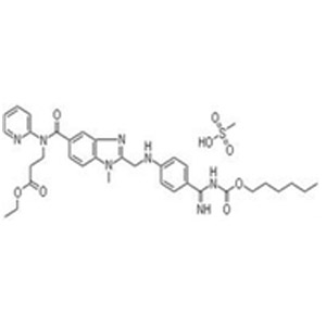 Dabigatran etexilate mesylate 甲磺酸达比加群酯