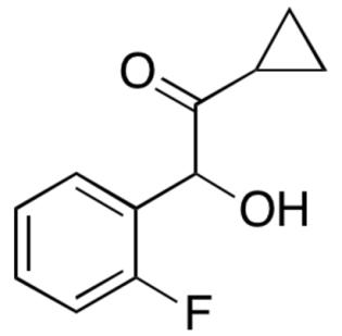 2-羟基-2-(2-氟苯基)-1-环丙基乙酮
