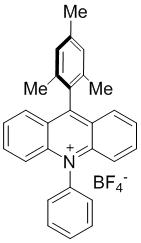 9-均三甲苯基-10-苯基吖啶-10-四氟硼酸盐