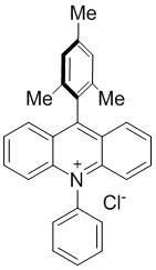 9-均三甲苯基-10-苯基吖啶-10-盐酸盐
