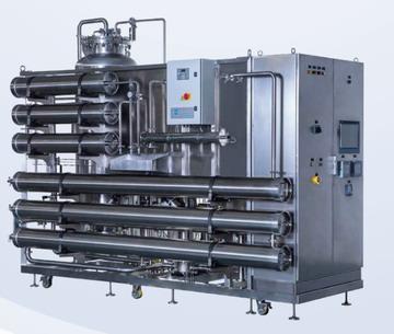 3m3/h新型純化水機