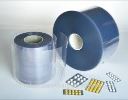 Pharma grade rigid PVC blister film