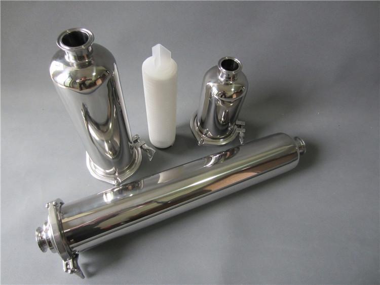 制药用不锈钢管道过滤器洁净过滤设备