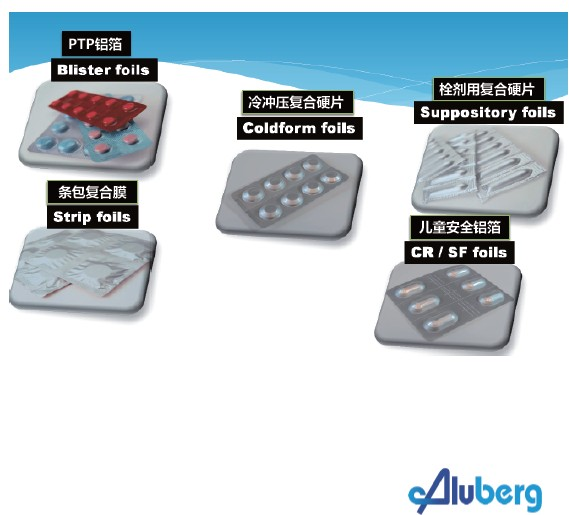 药品铝箔及冷铝