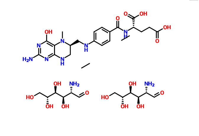 L-5-甲基四氢叶酸氨基葡萄糖盐 L-5-Methyltetrahydrofolate Glucosamine Salt