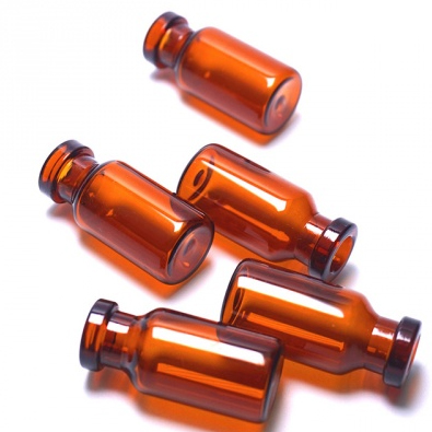 棕色中硼硅管制瓶