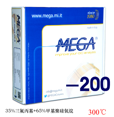 MEGA-200,30m,0.25mm,0.25μm毛细管柱