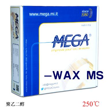 MEGA-WAX MS,30m,0.25mm,0.25μm毛细管柱