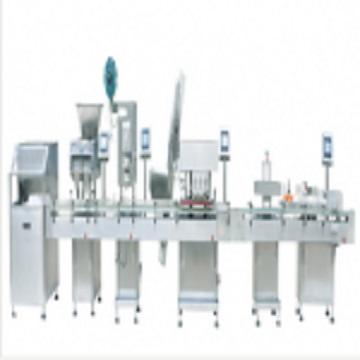 自动瓶装数粒包装生产线