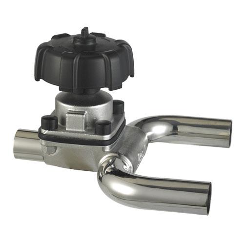 U型三通焊接隔膜阀