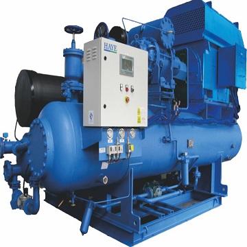 低温开启式螺杆冷水机组