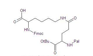 Fmoc-Lys(Palm-Glu-OtBu)-OH
