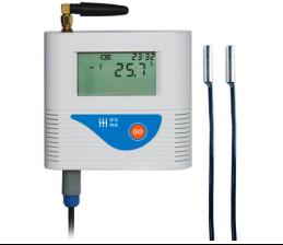 GPRS双温度记录仪