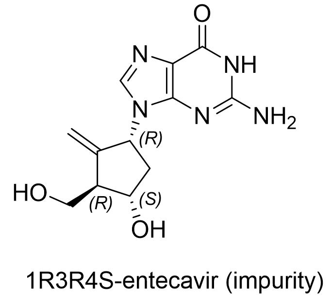 恩替卡韦杂质(1R3R4S)