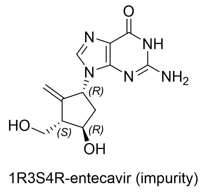恩替卡韦杂质(1R3S4R)