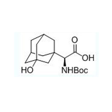 Tricyclo[3.3.1.13,7]decane-1-acetic acid,α-[[(1,1-dimethylethoxy)carbonyl]amino]-3-hydroxy-, (αS)-