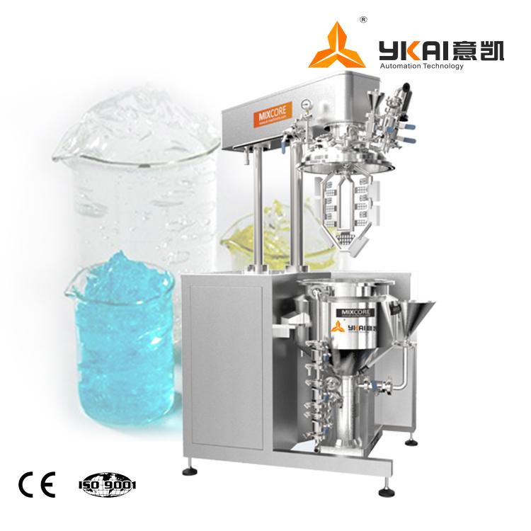 水性卡波姆凝胶生产设备 高剪切乳化机