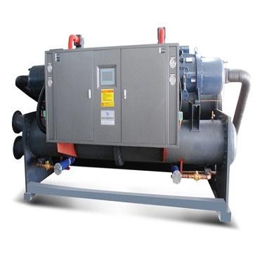 LSZ-SSR螺杆式铝型材氧化、镀锌、镀酸铜、电泳漆、镀锡、镀装饰等专用冷水机