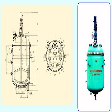 K3000/DN1600 搪玻璃开式搅拌容器