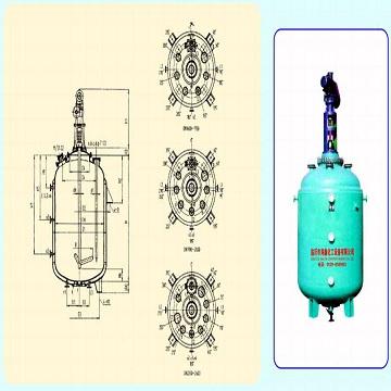 F3000-F20000 搪玻璃闭式搅拌容器