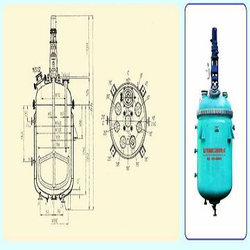 K2000/DN1300 搪玻璃开式搅拌容器