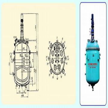 K1500/DN1300 搪玻璃开式搅拌容器