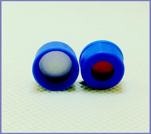特氟龙/硅胶复合垫片+蓝色中孔盖