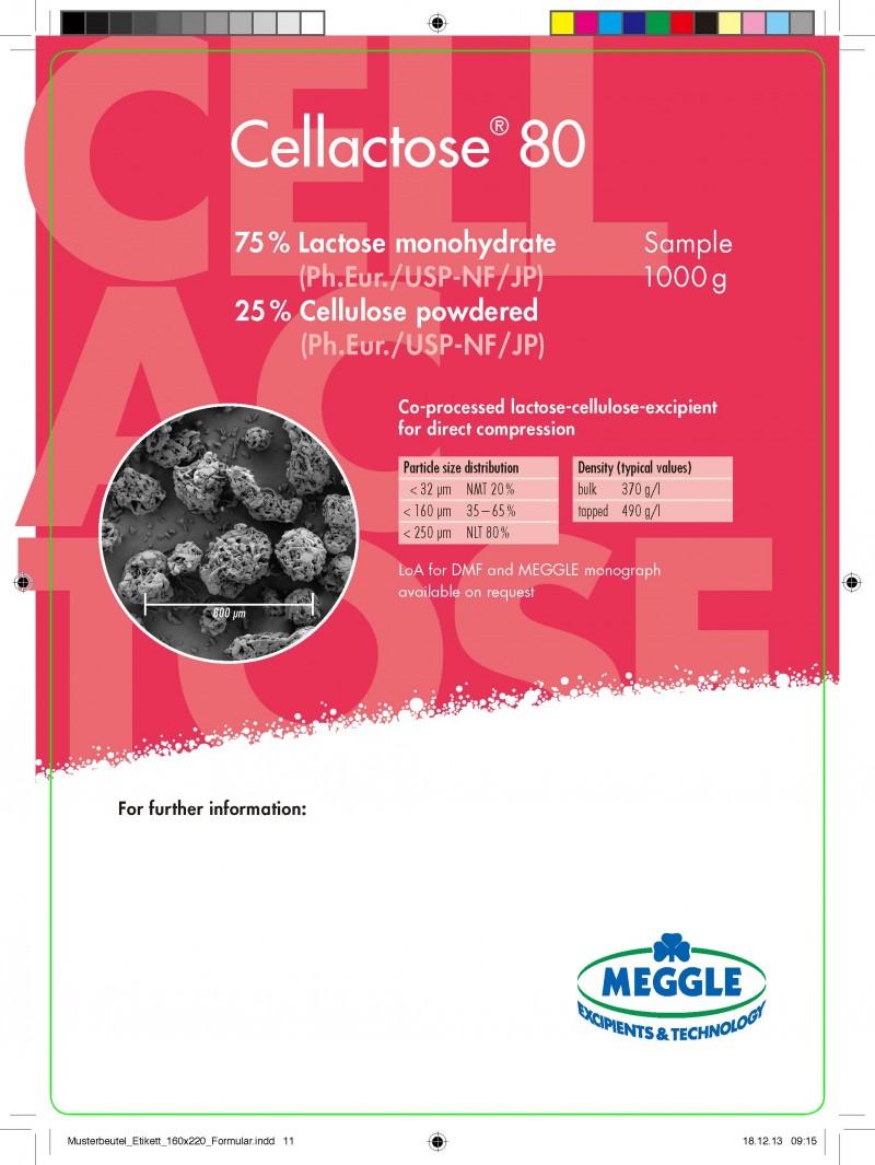 乳糖纤维素直压辅料Cellactose