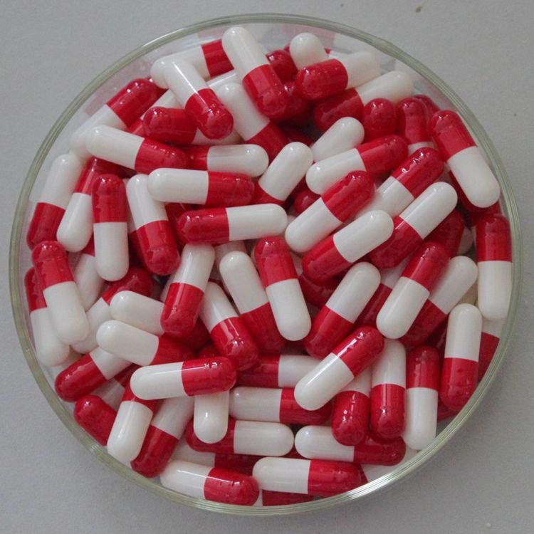 0#红白明胶空心胶囊