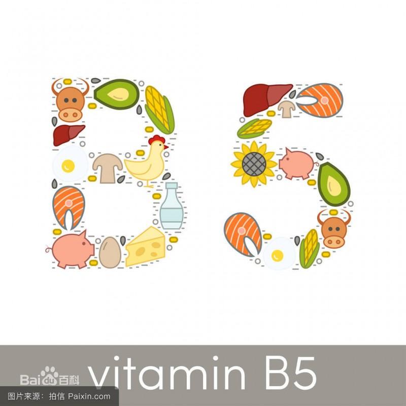 維生素B5 泛酸鈣