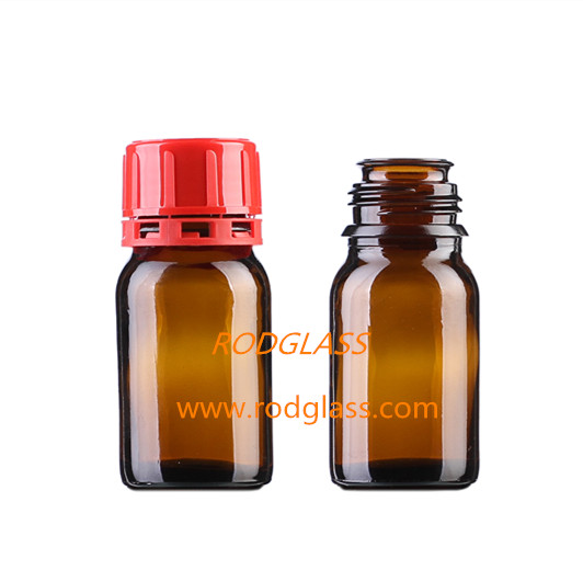 60ml amber reagent glass bottle for chemical reagent